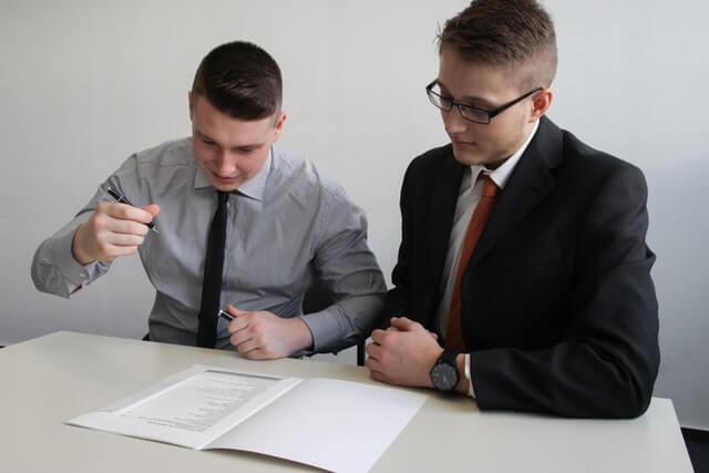 Signature CDI d'un ancien intérimaire