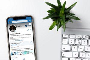 LinkedIn sur smartphone
