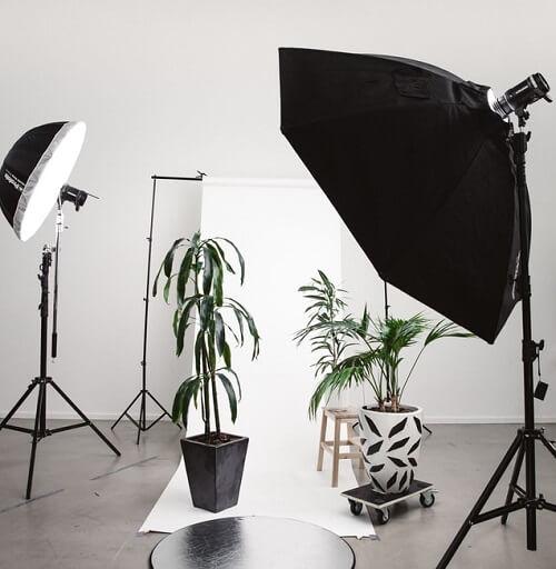 Shooting photo d'un produit à vendre