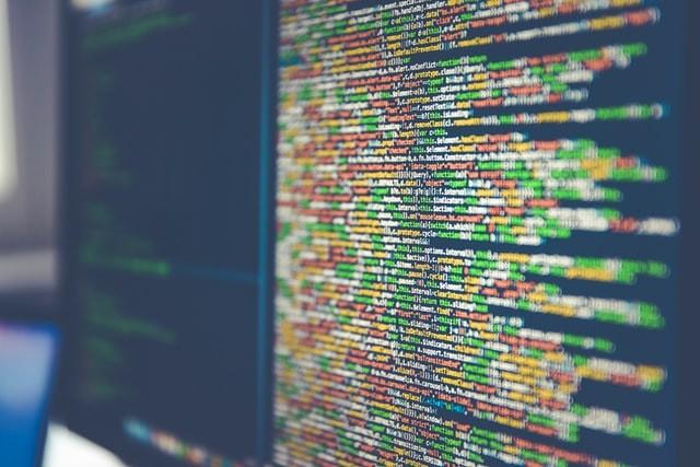données sur un écran d'ordinateur