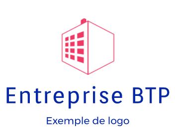 Logo d'une entreprise de BTP
