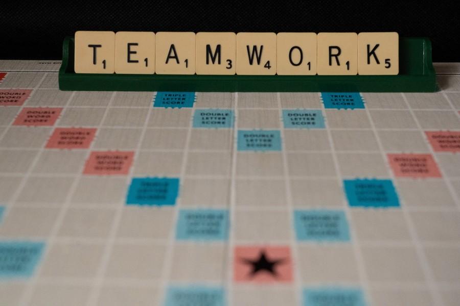 mot teamwork au scrabble
