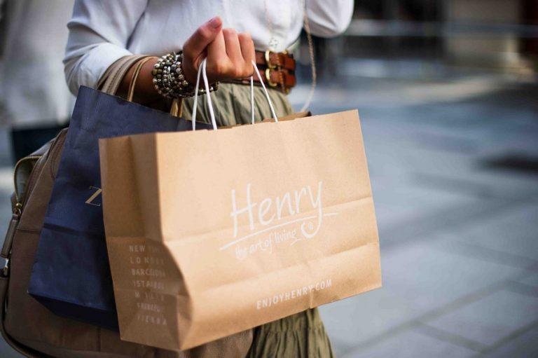 sac de shopping personnalisé pour une marque