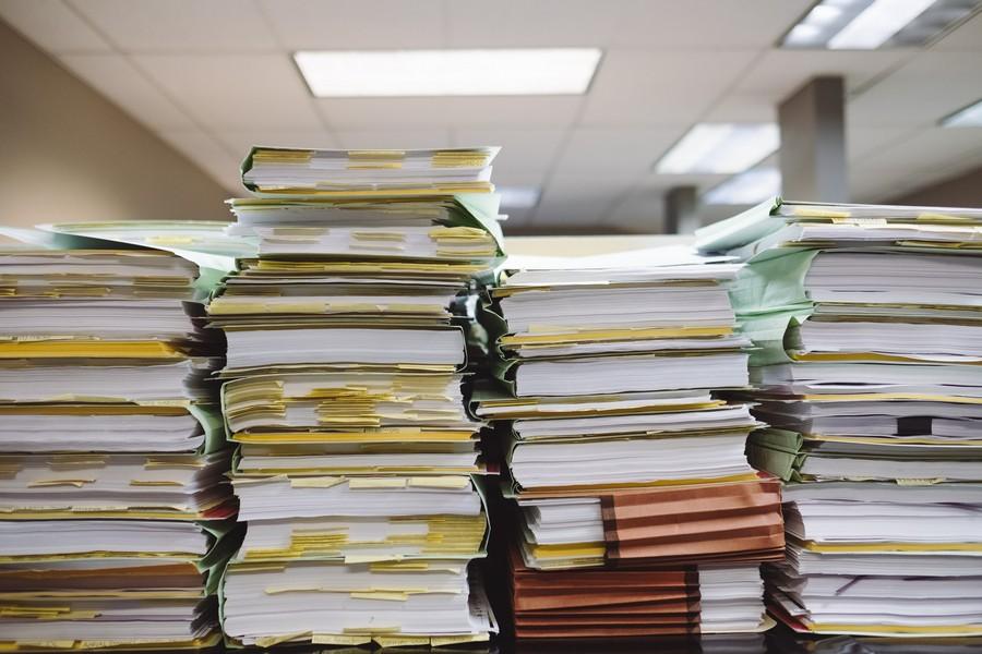 pile de documents administratifs