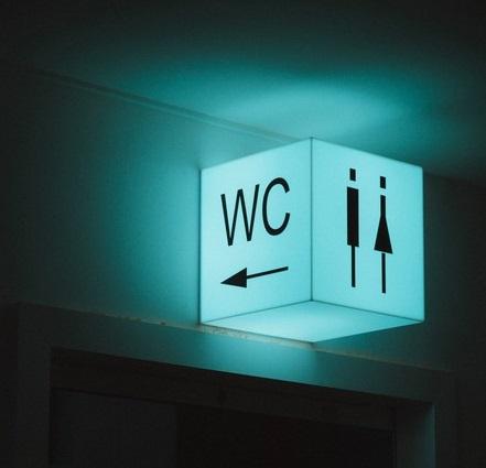signalisation lumineuse wc